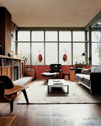 Dwell modern lounge furniture Furniture Stores midcenturymodern eames hermanmiller lounge chair livingrooms uvola Dwell Best Modern Living Room End Tables Recliner Design Photos And Ideas