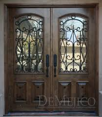 wrought iron front doorsWrought Iron Exterior Double Doors  Door Handles And Double Door