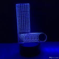 2019 L Alphabet Letters 3d Illusion Led Lamp Letters Decoration