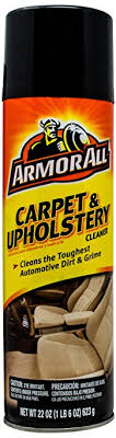 carpet and upholstery cleaner. armor all 78091 carpet and upholstery cleaner - 22 oz. a