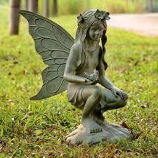 fairy garden statues. Delighful Statues Fairy Garden Sculpture Throughout Statues