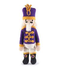 Crochet Nutcracker Christmas Doll Kit Toft