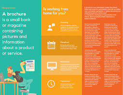 Electronic Brochure Template Design Trifold Brochures That Get Your Business Noticed