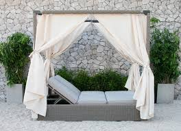 Cynthia Outdoor Daybed With Canopy