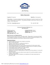 Retail Job Description Resume Retail Position Description Tolgjcmanagementco 39