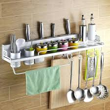 hanging kitchen utensil holder the useful rack racks stainless steel ute