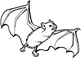 Coloring Book Pages Of Bats Coloring Pages Bats Bat Coloring Pages