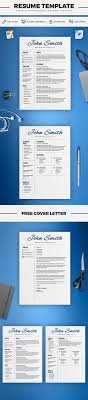 Resume Template Cv Template Cover Letter Word And Pages 2