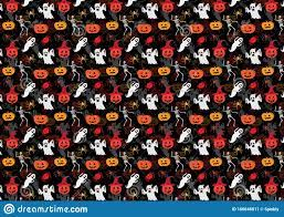 Halloween Pattern Design for Use As ...