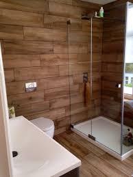 Luxury Bathroom Wood Tile Floor Bathroom Ideas