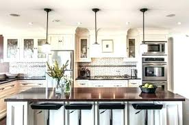 industrial kitchen lighting. Island Lighting Ideas Kitchen Light Over Hanging Lights Best . Farmhouse Industrial S