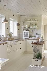 cottage kitchen ideas. Whitewashed Planks Cottage Kitchen Ideas