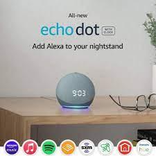 Echo Dot (4. Nesil) - Akıllı Hoparlör - Saat ve Alexa