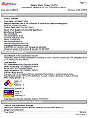 Cool Air Products Safety Data Sheets Air Conditioning