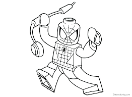 Spiderman Coloring Page Framesforeverinfo