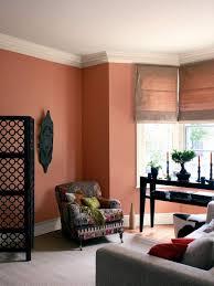 Orange Wall Paint Living Room