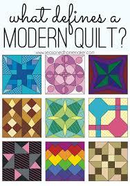 What Defines a Modern Quilt? &  Adamdwight.com