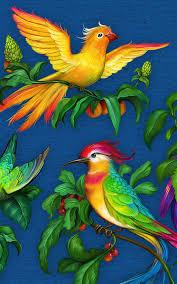 Birds Pattern <b>Valentina Kostina</b> - The Art of Eldar Zakirov