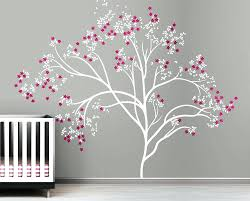 wall decal cherry blossom tree wall decals for nursery rooms design image  of large tree wall