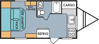 travel trailer floor plans. 2018 Riverside RV Retro 177FK Travel Trailer Floorplan Floor Plans
