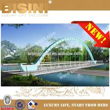 Garden Bridge Design And Construction River Landscape Steel Structure Bridge Metal Construction Decorative Bridge With Cad Design Bf08 Y10004 Buy Garden Metal River Landscape Bridge