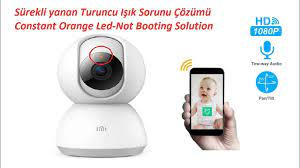 Mi Home Security Camera 360 Turuncu Işık Sorunu Çözümü %100 (Constant  Orange Light EnglishSubtitled) - YouTube