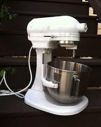 kitchenaid heavy duty. white kitchenaid heavy duty pro 500 325 watts stand mixer w/ attachements kitchenaid
