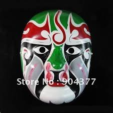 Decorating Masquerade Masks Ethnic Beijing Opera Party mask Masquerade Masks Mens Decorating 52
