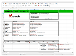 magento excel invoice shipment credit memo magazento com how it looks