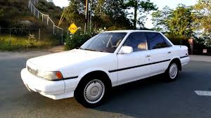 1988 Toyota Camry 1 Owner Amazing Records LE v6 SE 77k Miles XLNT ...
