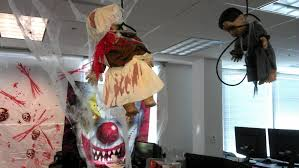 Halloween office decoration ideas Decoration Theme Outstandinghalloweenofficedesignwithhangingdolland Ls Slipcovers Things To Consider When Adding Halloween Decorations For Office Ls