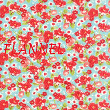 Aqua & Red Floral Flannel Fabric, Moda Little Ruby 55130 12F ... & Aqua & Red Floral Flannel Fabric, Moda Little Ruby 55130 12F, Bonnie and  Camille, Flower Flannel Quilt Fabric, Cotton Flannel Yardage from  AnnadaisysFabrics ... Adamdwight.com