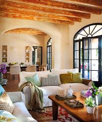 Spanish Home Decorating Amusing Colonial Spanish Home Interior Design With Black Arched