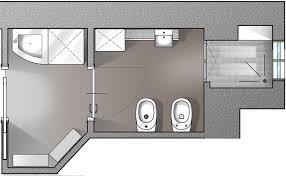 Disegno Bagno In Camera : Dimensioni minime bagno in camera pasionwe