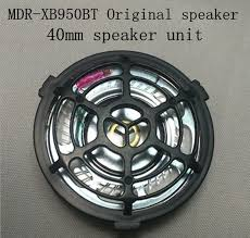 mdr xb950bt 40mm <b>speaker unit</b> 1pair=2pcs-in Earphone ...