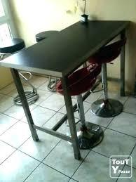 Table Haute Et Tabouret Table Bar Tabouret Pas Cher Traintestco
