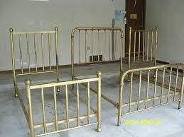 antique brass bed. 3 Antique Brass Beds, Set: 1 Double, 2 Twins; 1890\u0027s Vintage Bed E