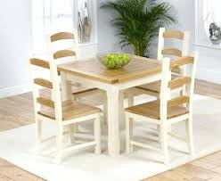 Butterfly Drop Leaf Folding Dining Table And Four Chairs  Chairs Small Kitchen Table And Four Chairs