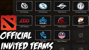 official invited teams dota 2 international 2015 compendium 2015