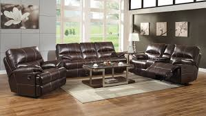 living room with recliners. transitional glider recliner with pillow arms and table in living room recliners v