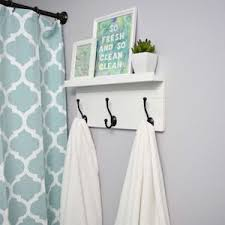 apartment diy decorating. DIY Towel Rack With Shelf Wood Boards + White Paint Hammer And Nails Decorative Hooks Screws. Glue Apartment Diy Decorating