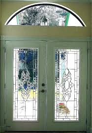 decorative front doors stained glass front door inserts decorative panels for doors sans etched b ideas