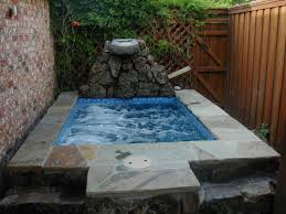 inground hot tub image home ideas collection the