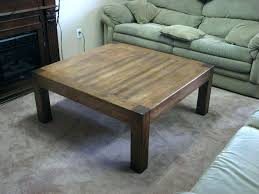 build own coffee table ee table barade white rustic set make your own square