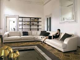 curved leather sofa sectional contemporary uk