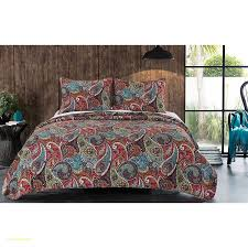 bold purple red burnt orange blue green white full queen quilt set paisley bohemian themed bedding