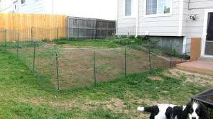 Backyard Fence Design Impressive Temporary Backyard Fence Outdoor Privacy Dog Images