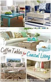 coffee table decor ideas for coastal