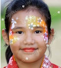 Small Picture 91 best Face Paint Easter Ideas images on Pinterest Face