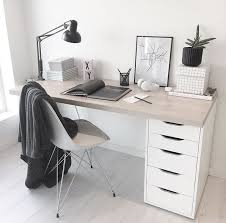 Bedroom Slim Desk For Bedroom Small Study Table And Chair White ...